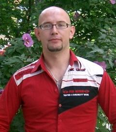 Dmytro Yagunov, a Chevening scholar at Queen's University of Belfast, 2003-2004